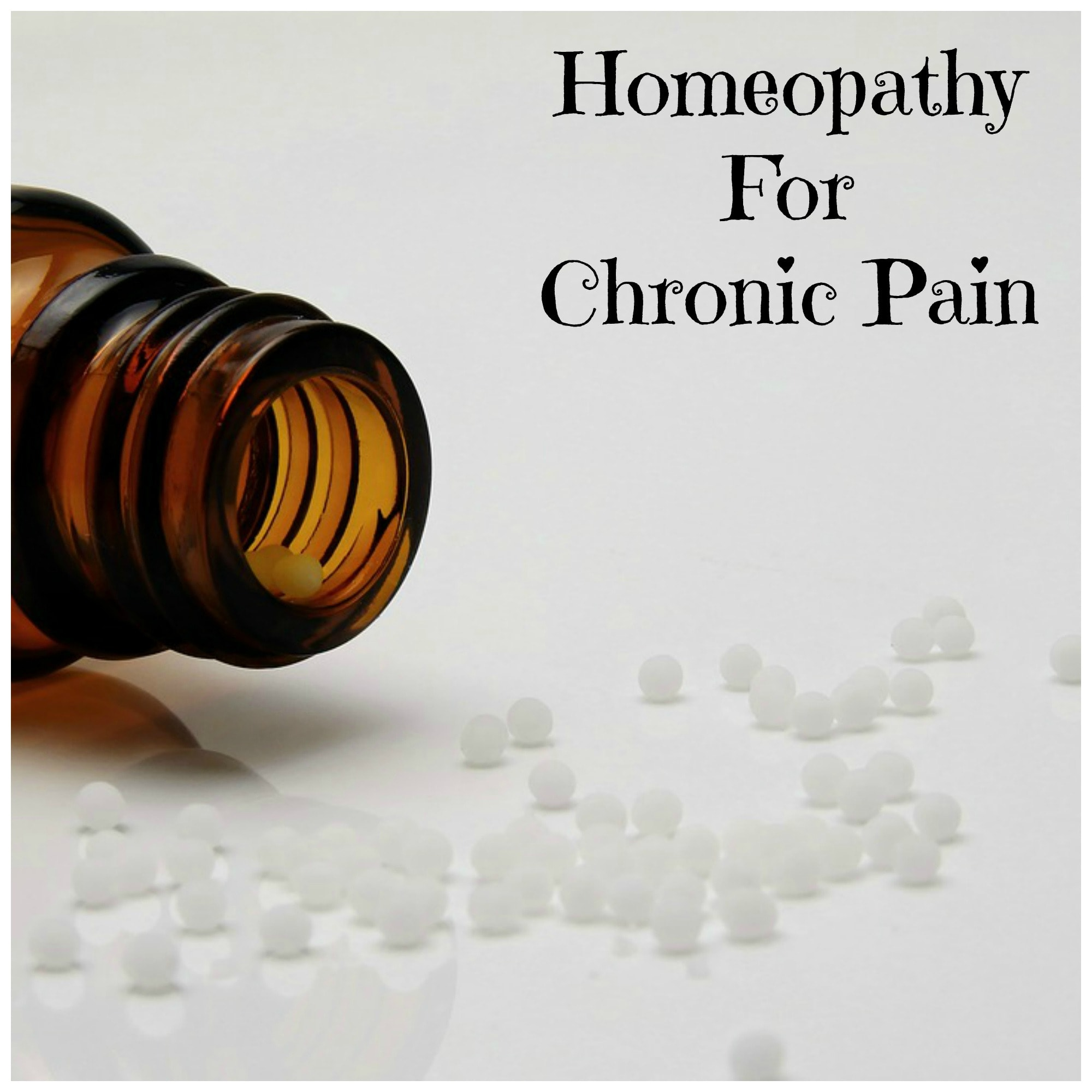 homeopathy for chronic pain