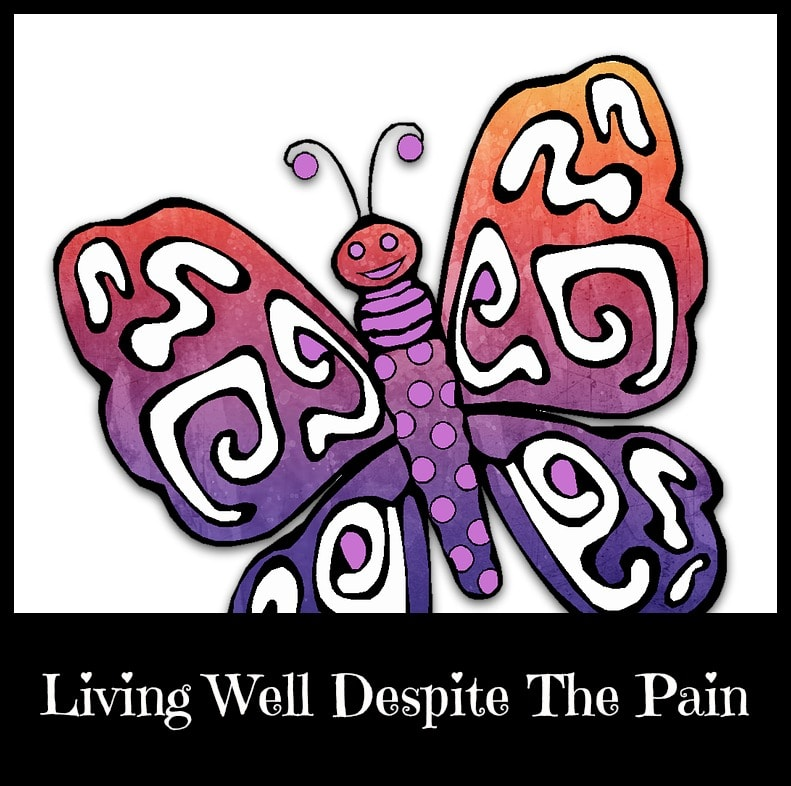 living well despite the pain